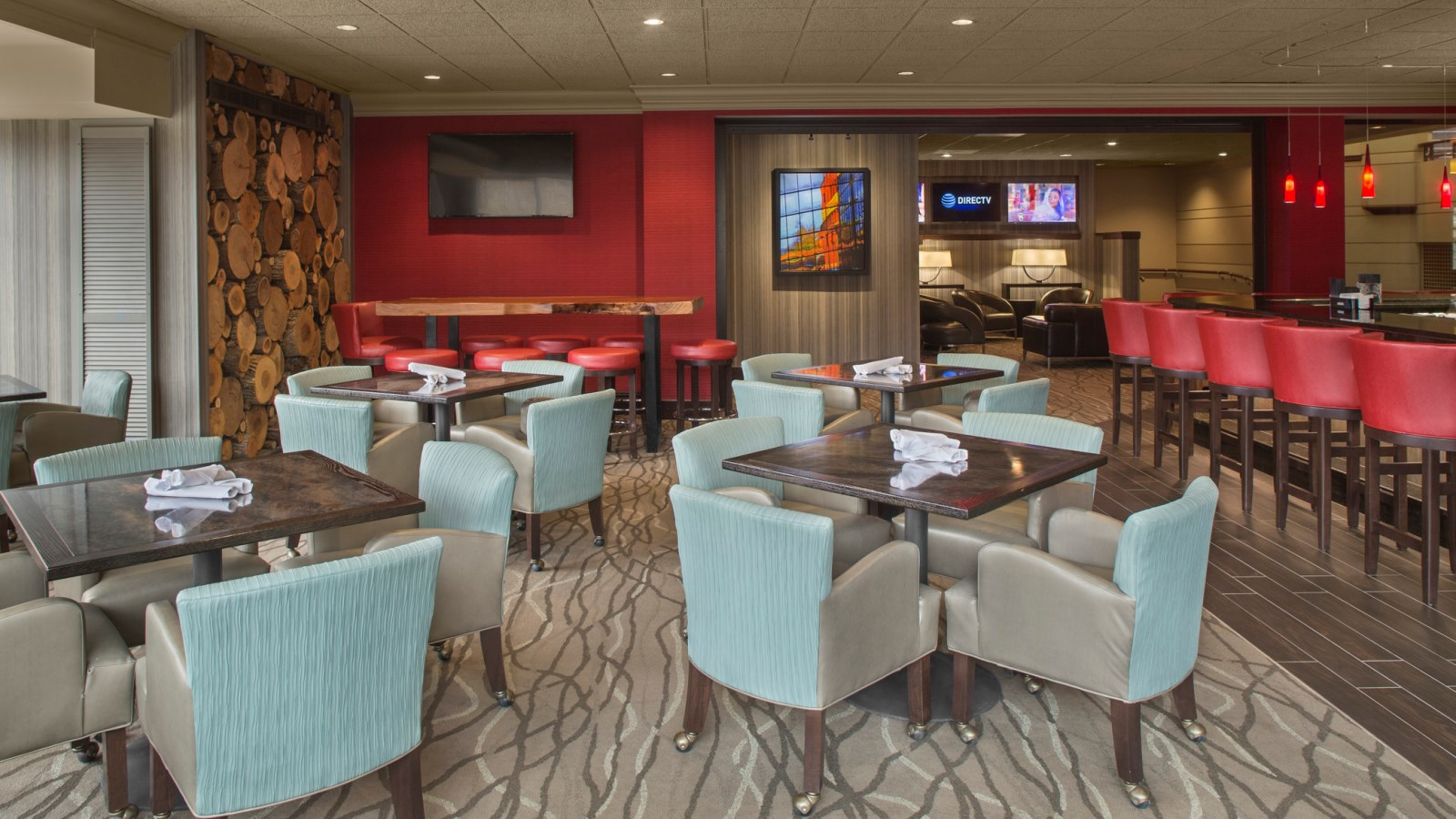 Sheraton Suites Akron Cuyahoga Falls - Beau's On The River Lounge